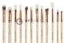 Профессиональный набор кистей ZOEVA Rose Golden Complete Eye Set Vol.2 12шт.  оптом 3