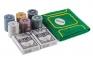 Набор для игры в покер 120 фишек с сукном  оптом 4