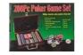 Набор для игры в покер 200 фишек с сукном  оптом 3