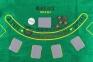 Набор для игры в покер 200 фишек с сукном  оптом 6