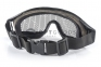 Защитная сетчатая маска для глаз Desert Locust Black  оптом 3