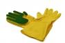 Перчатки с губкой для мытья посуды  оптом 4