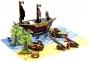 Анимационная студия Пиратский корабль StikBot Movie Set Pirate Scene 1