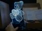 3 D Creative Desk Lamp (Настольная лампа голограмма 3Д)   оптом 5