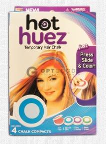 Волшебные мелки для волос Hot Huez   оптом