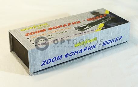 Фонарь-электрошокер Молния YB-1312  оптом