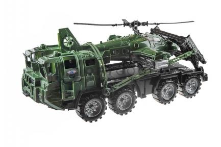 Грузовая машина с вертолётом  оптом
