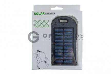 Внешний аккумулятор на солнечных батареях Solar Сharger 5000mAh  оптом