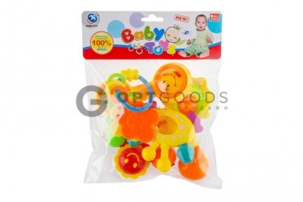 Погремушки  Baby Toys 5 в 1   оптом
