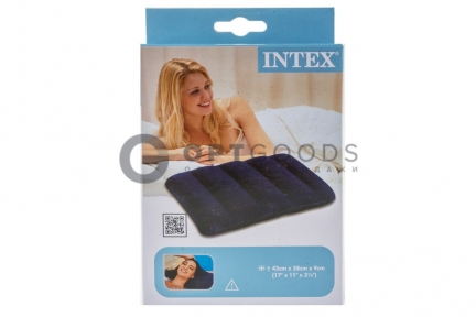 Надувная подушка 43х28х9 Intex   оптом