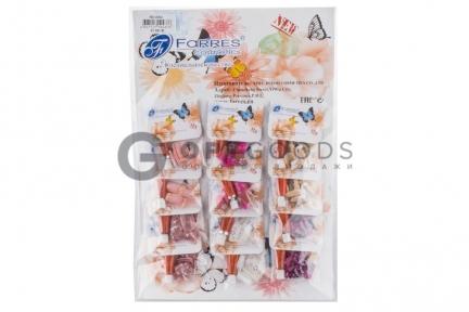 Накладные ногти Farres A-002 (12 комплектов с клей-гелем, 5 г) качество А  оптом
