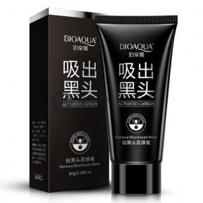Черная маска-пленка от прыщей Pilaten Suction Black Mask 60 гр.  оптом