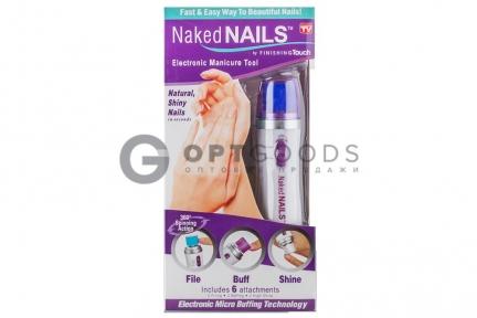 Электрическая пилка для маникюра Naked Nails  оптом