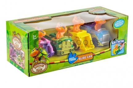 Игрушки Поезд Динозавров Slide Car  оптом