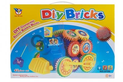 Паровоз на радиоуправлении Diy Bricks  оптом