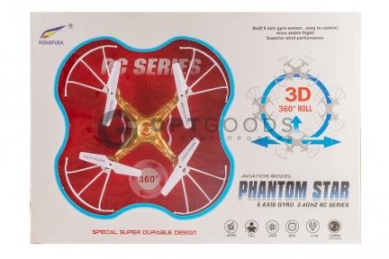 Радиоуправляемый квадрокоптер Rongfuda Phantom Star  оптом