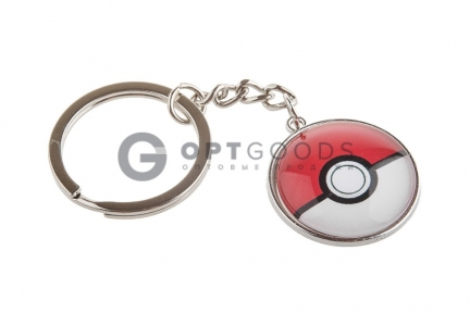 Брелок Pokemon Ball (PokeBall)  оптом