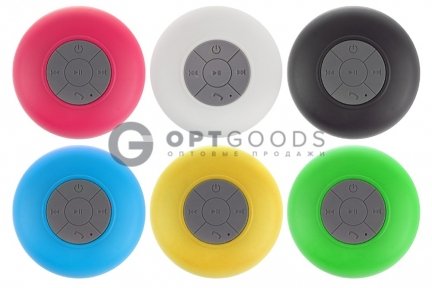Водонепроницаемая Bluetooth-колонка на присоске BTC-06  оптом