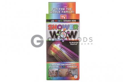 Насадка для подсветки воды из душа Shower Wow  оптом