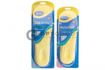 Cтельки для обуви Scholl Gel Activ  оптом