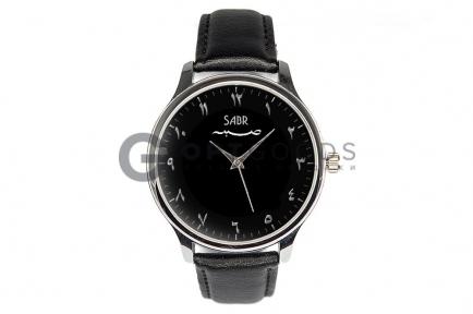Часы Sabr Classic arabic на классическом чёрном ремешке  оптом