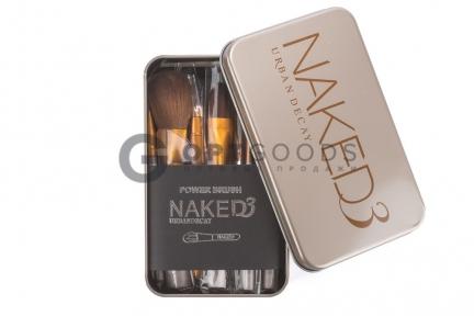 Набор кистей для макияжа Naked 3 urban decay 12 шт.  оптом
