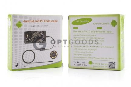 USB эндоскоп 1 метр  оптом