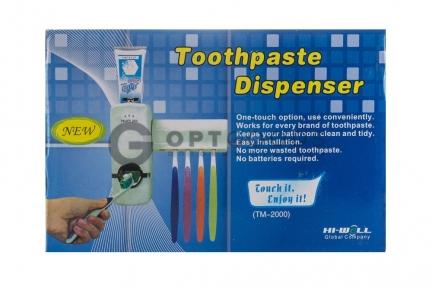 Механический дозатор зубной пасты Touch me  оптом
