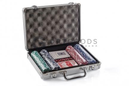 Набор для игры в покер 200 фишек  оптом