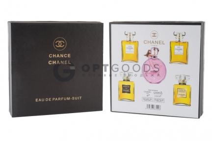 Подарочный набор Chanel 5 в 1 оптом