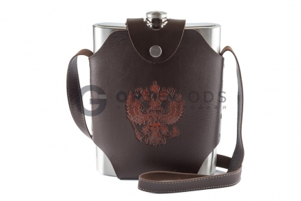 Фляга Guotai Hip flask 48oz в чехле  оптом