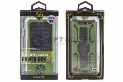 Power Solar Box 12000 mAh  оптом