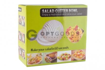 Салатница-овощерезка 2 в 1 Salad Cutter Bowl  оптом