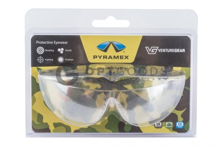 Защитные очки Venture Gear Provoq S7280S зеркально-серые (Pyramex)  оптом