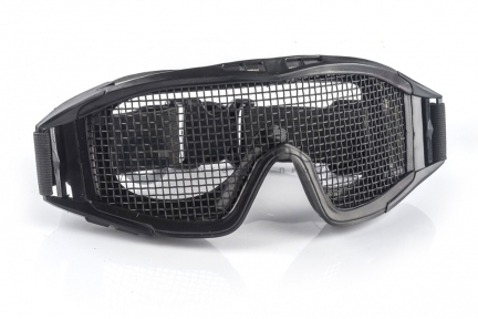 Защитная сетчатая маска для глаз Desert Locust Black  оптом