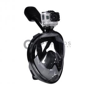 Подводная маска с креплением для экшн камеры и берушами оптом
