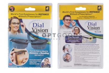 Очки с регулировкой линз Dial Vision  оптом