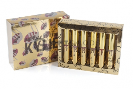 Помады Kylie Holiday золотые    оптом