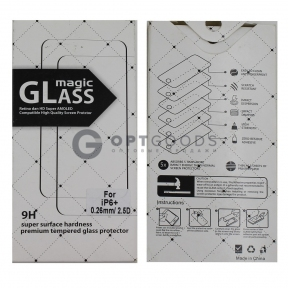 Защитное стекло для iPhone 6 plus Magic Glass  оптом
