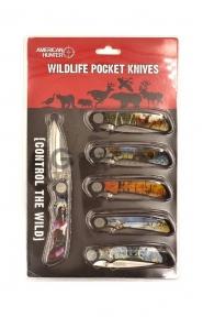 Набор перочинных ножей 6шт  оптом