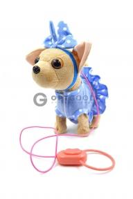 Интерактивный щенок на поводке Chi Chi Love  оптом