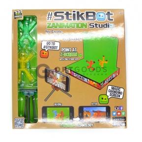 Игрушка Stikbot анимационная студия со сценой  оптом