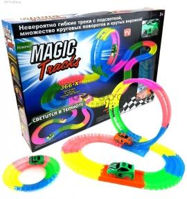 Magic Tracks на 366 деталей с подсветкой и петлей оптом