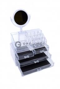 Органайзер для косметики с зеркалом  оптом