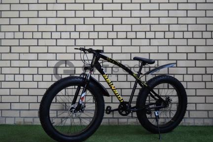 Велосипед FatBike Green Bike model 2018 на спицах оптом