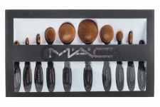 Набор кистей MAC Gold Collection Brush 10 штук  оптом