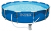 28202 Каркасный бассейн Metal Frame 305х76см, 4485л, фильтр-насос 1250л/ч  оптом